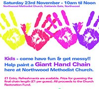 Giant Hand Chain – Saturday 23rd November 10am til Noon