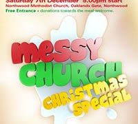 Messy Church Christmas Special – Saturday 7th December