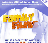 Family Film – Saturday June 28th