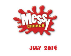 Messy Church – Saturday 26th July  5.00 – 6.30pm
