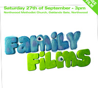 Free Family Film – Saturday 27th of September 3pm