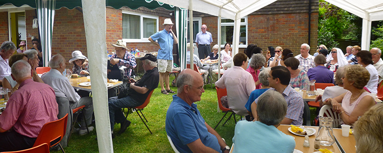 2014 Church BBQ for Christian Aid