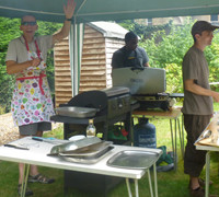 NMC BBQ made £355 to go to Christian Aid