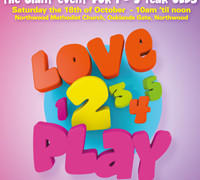 Love2Play – Saturday 18th of October – The Giant Soft Play Event for 1 to 5 year olds.
