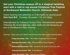 Christmas tree Festival 20124 – Times
