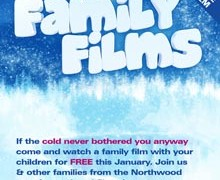 Free Family Film – Sat 31st January 3pm Start