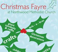 Christmas Fayre 2015  – Saturday 14th November 10am – 1pm