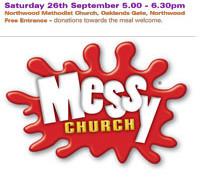 Messy Church 26th September