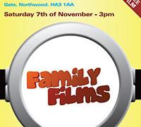 Family Film – Saturday Nov 7th