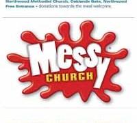 Messy Church – 30th April,  5 – 6.30pm